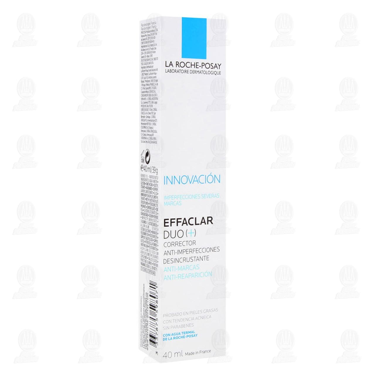 Comprar La Roche Posay Effaclar DUO (+) Corrector Anti-Imperfecciones Desincrustante, 40 ml. en Farmacias Guadalajara