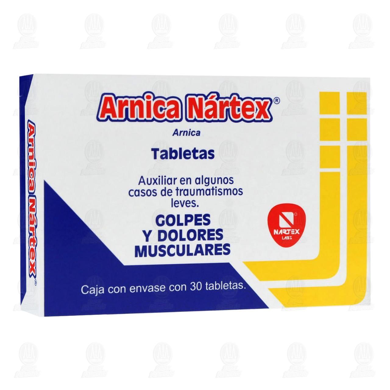 Árnica Nártex 30 Tabletas