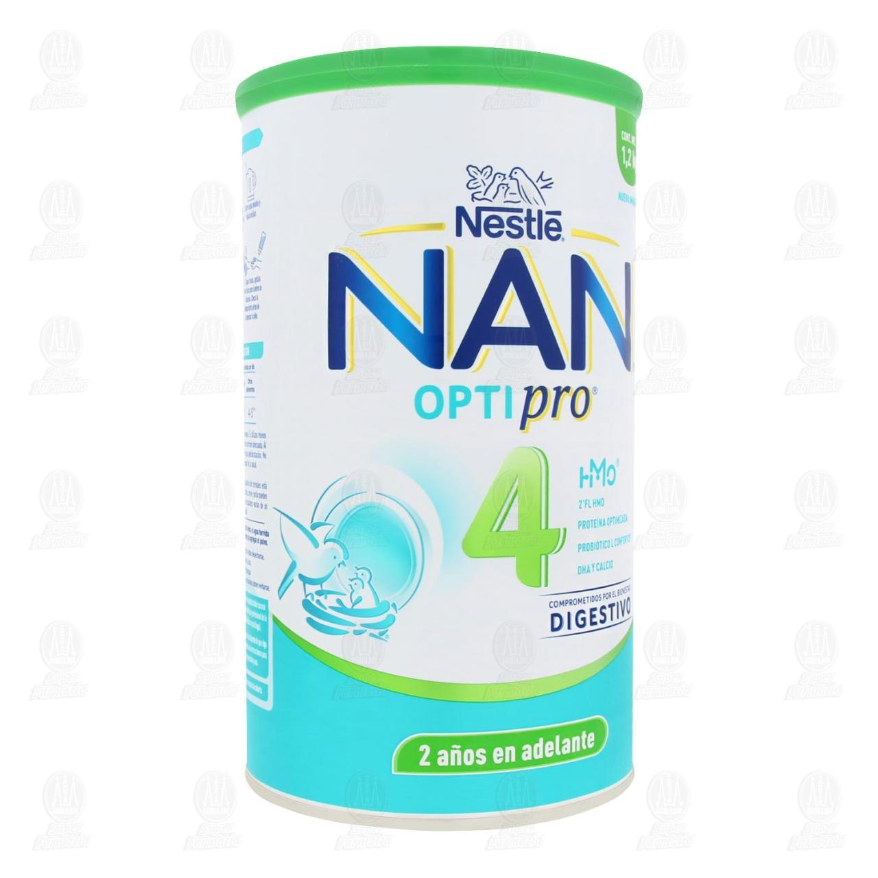 Comprar Fórmula Crecimiento NAN 4 Optipro con HM-O, 1.2 kg. en Farmacias Guadalajara