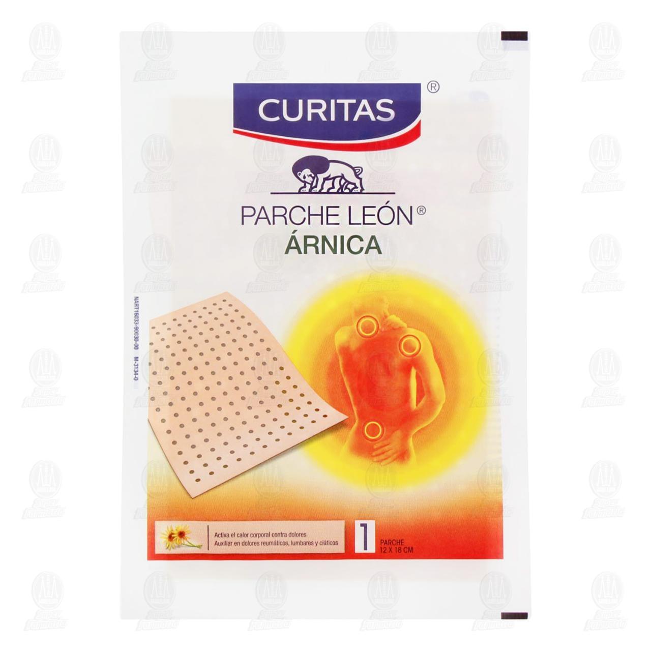 Comprar Parche Curitas León Árnica 12cm x 18cm 1pz en Farmacias Guadalajara
