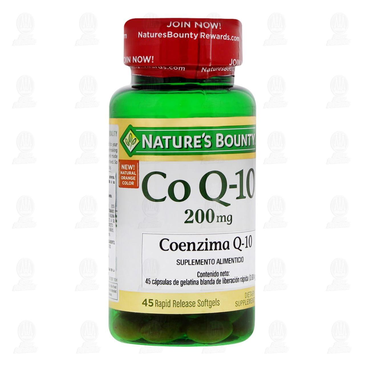 Comprar Coenzima Q-10 200mg 45 Cápsulas en Farmacias Guadalajara