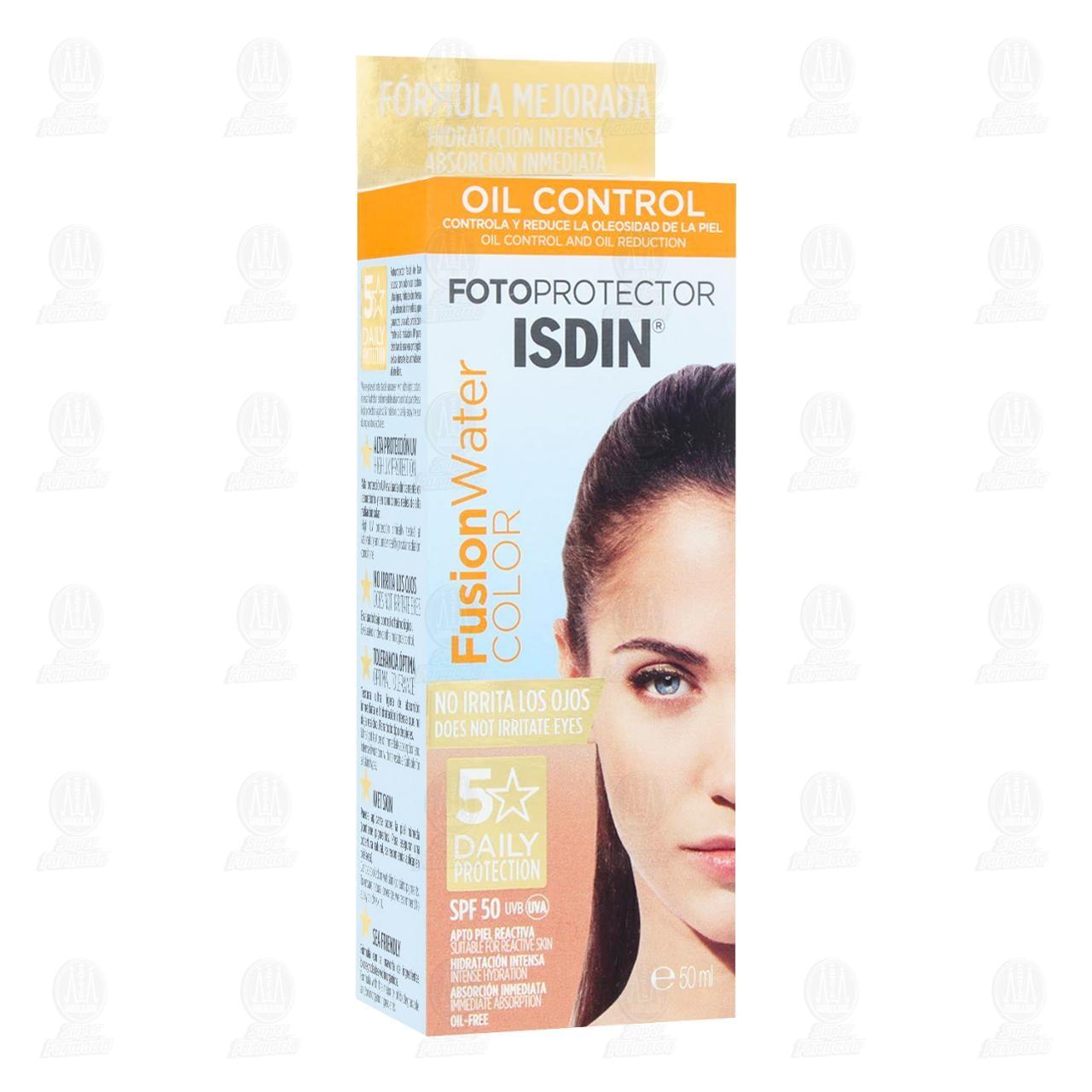 Comprar Fotoprotector Isdin 50 Fusion Water Color 50, ml. en Farmacias Guadalajara