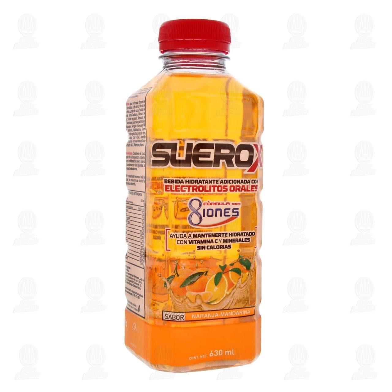 Comprar Suerox Naranja Mandarina 630ml en Farmacias Guadalajara