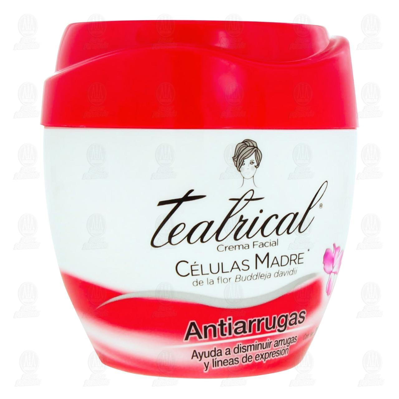 Comprar Crema Facial Teatrical Células Madre Antiarrugas, 200 gr. en Farmacias Guadalajara