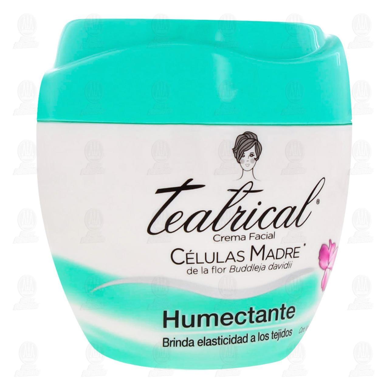 Comprar Crema Facial Teatrical Células Madre Humectante, 200 gr. en Farmacias Guadalajara