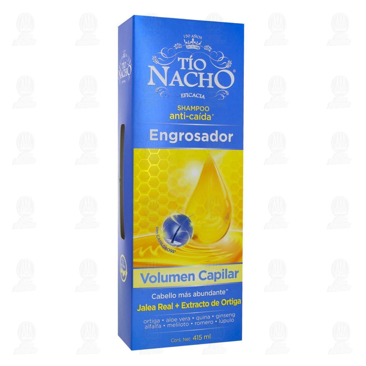 Comprar Shampoo Tío Nacho Anti-Caída Engrosador, 415 ml. en Farmacias Guadalajara
