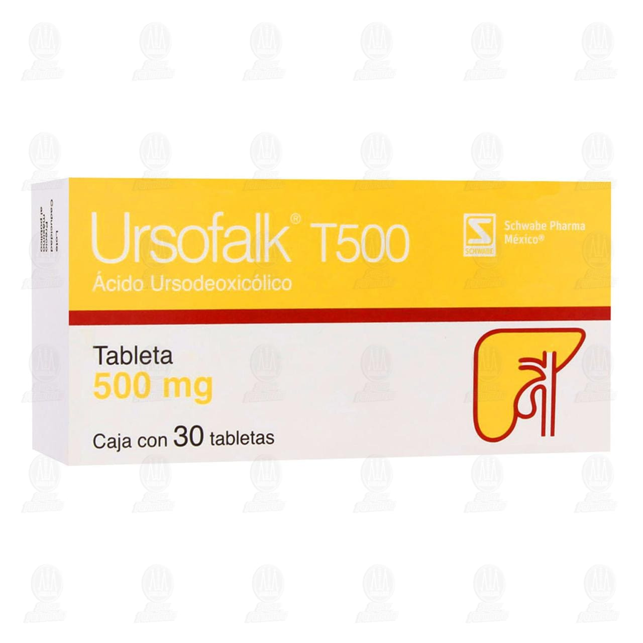 Comprar Ursofalk T500 500mg 30 Tabletas en Farmacias Guadalajara