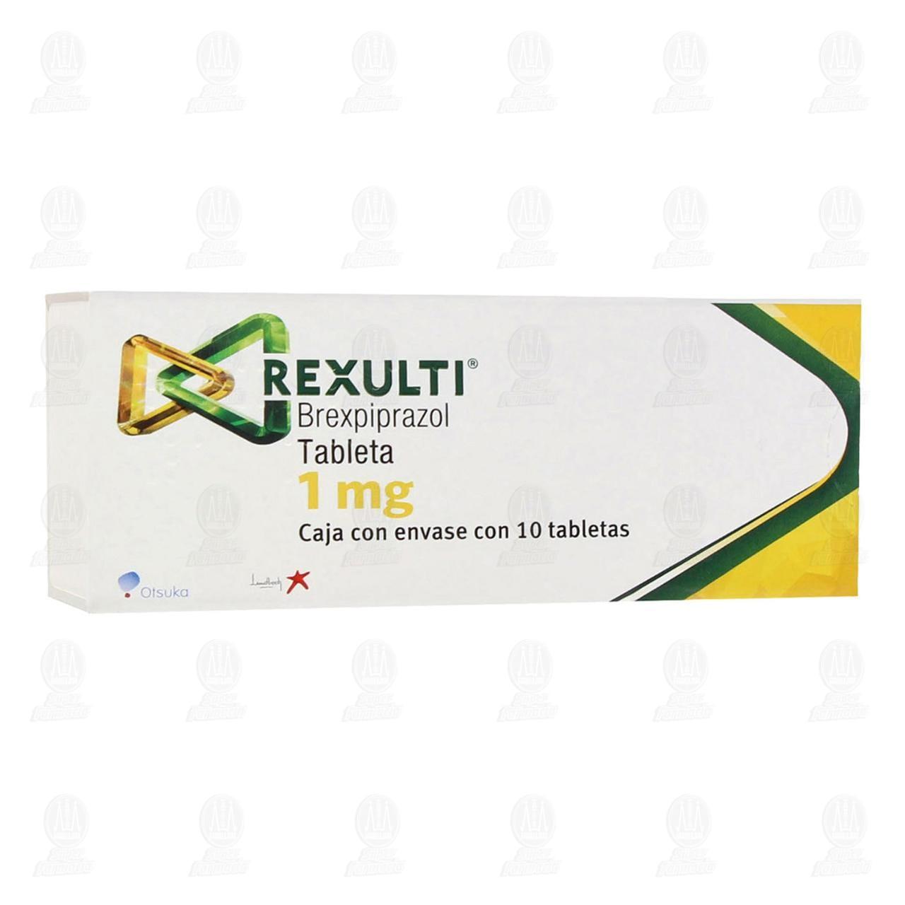 Comprar Rexulti 1 mg 10 Tabletas en Farmacias Guadalajara