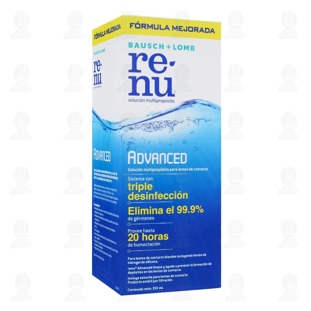 Comprar Renu Advanced 355ml Solución en Farmacias Guadalajara