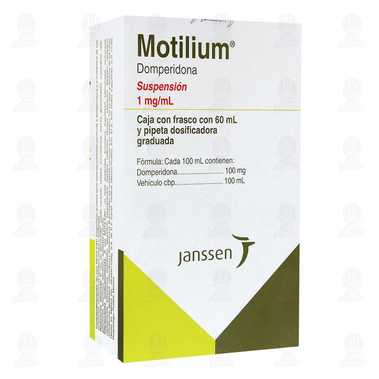 Comprar Motilium 1mg/ml 60ml Suspensión en Farmacias Guadalajara