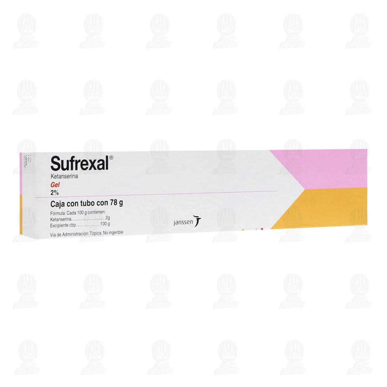 Comprar Sufrexal Gel 2% 78gr en Farmacias Guadalajara