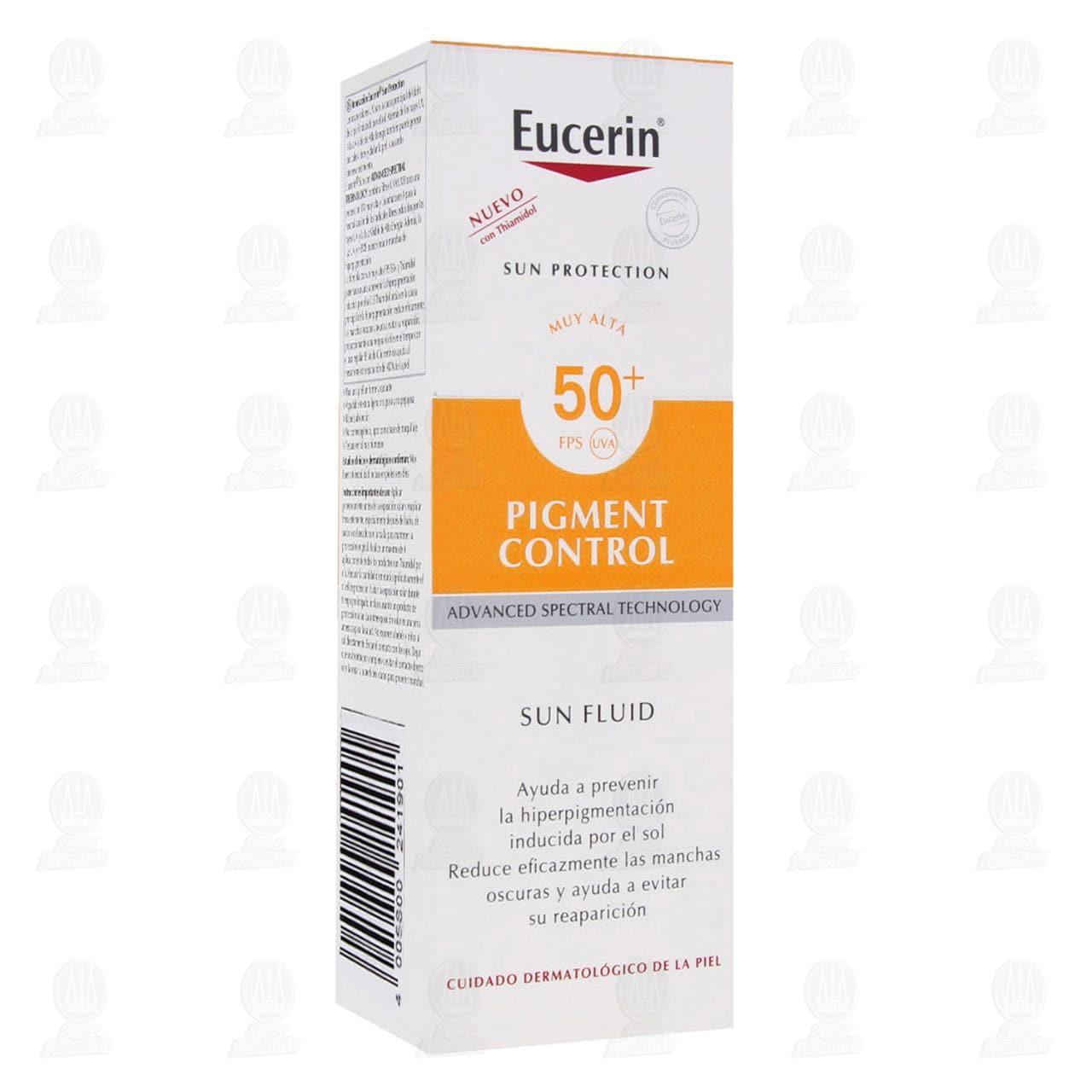 Comprar Eucerin Protector Solar Facial FPS 50+ Anti Pigment Sun, 50ml. en Farmacias Guadalajara