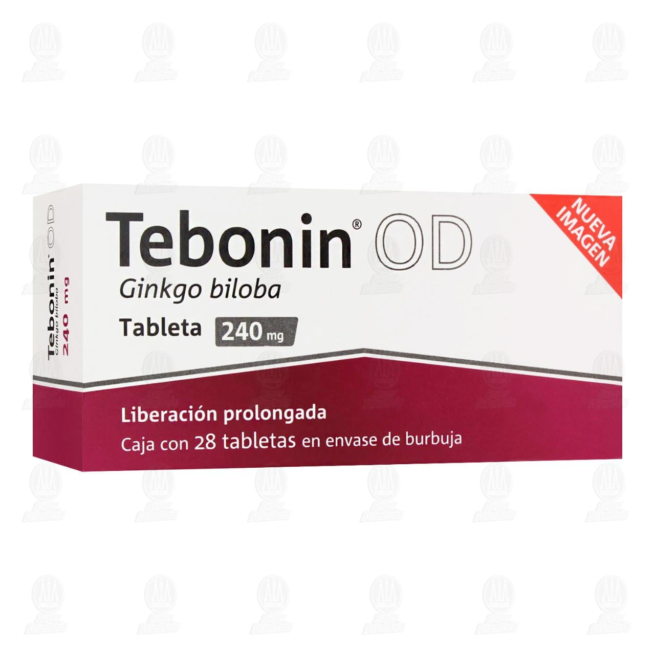 Comprar Tebonin OD 240mg 28 Tabletas en Farmacias Guadalajara