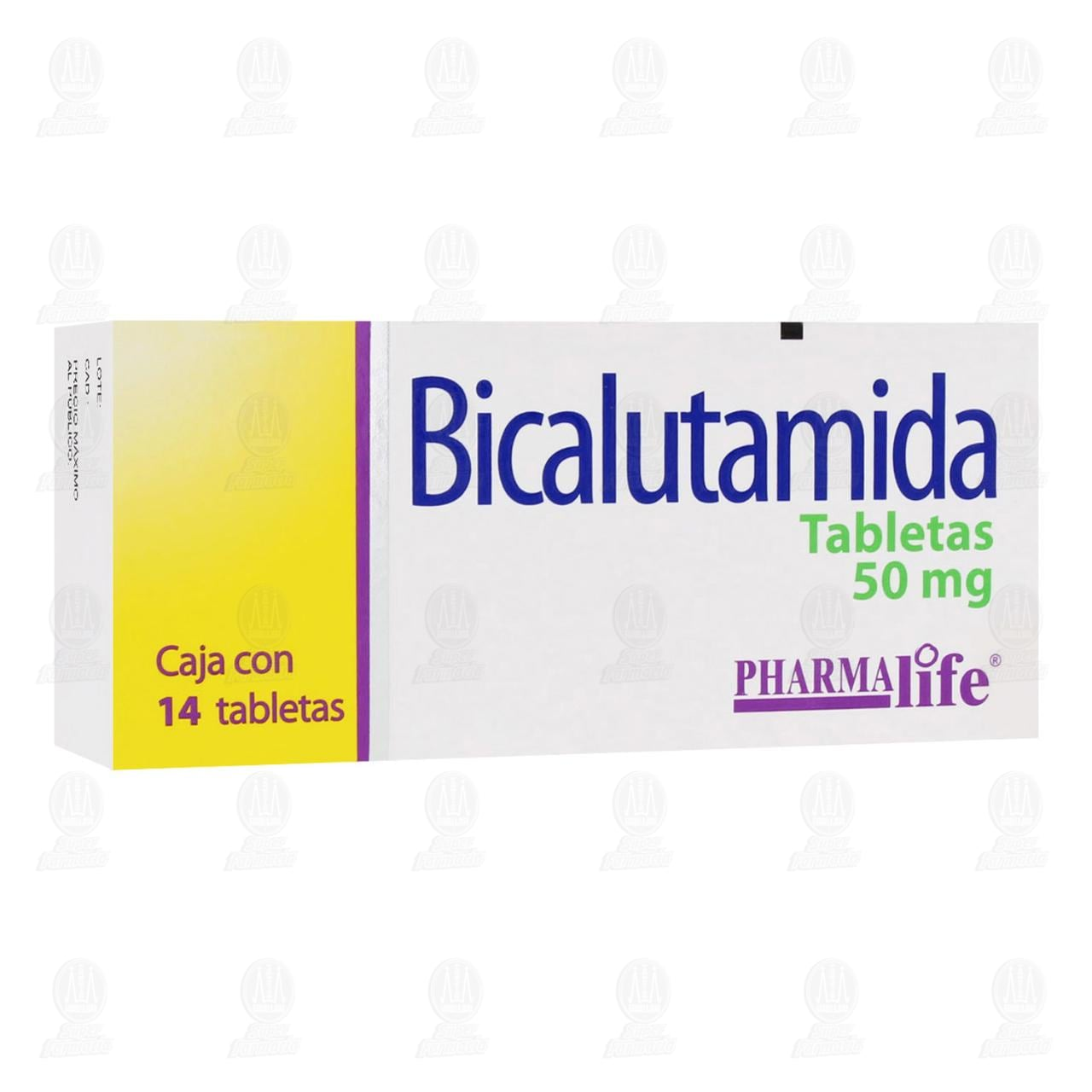 Comprar Bicalutamida 50mg 14 Tabletas Pharmalife en Farmacias Guadalajara