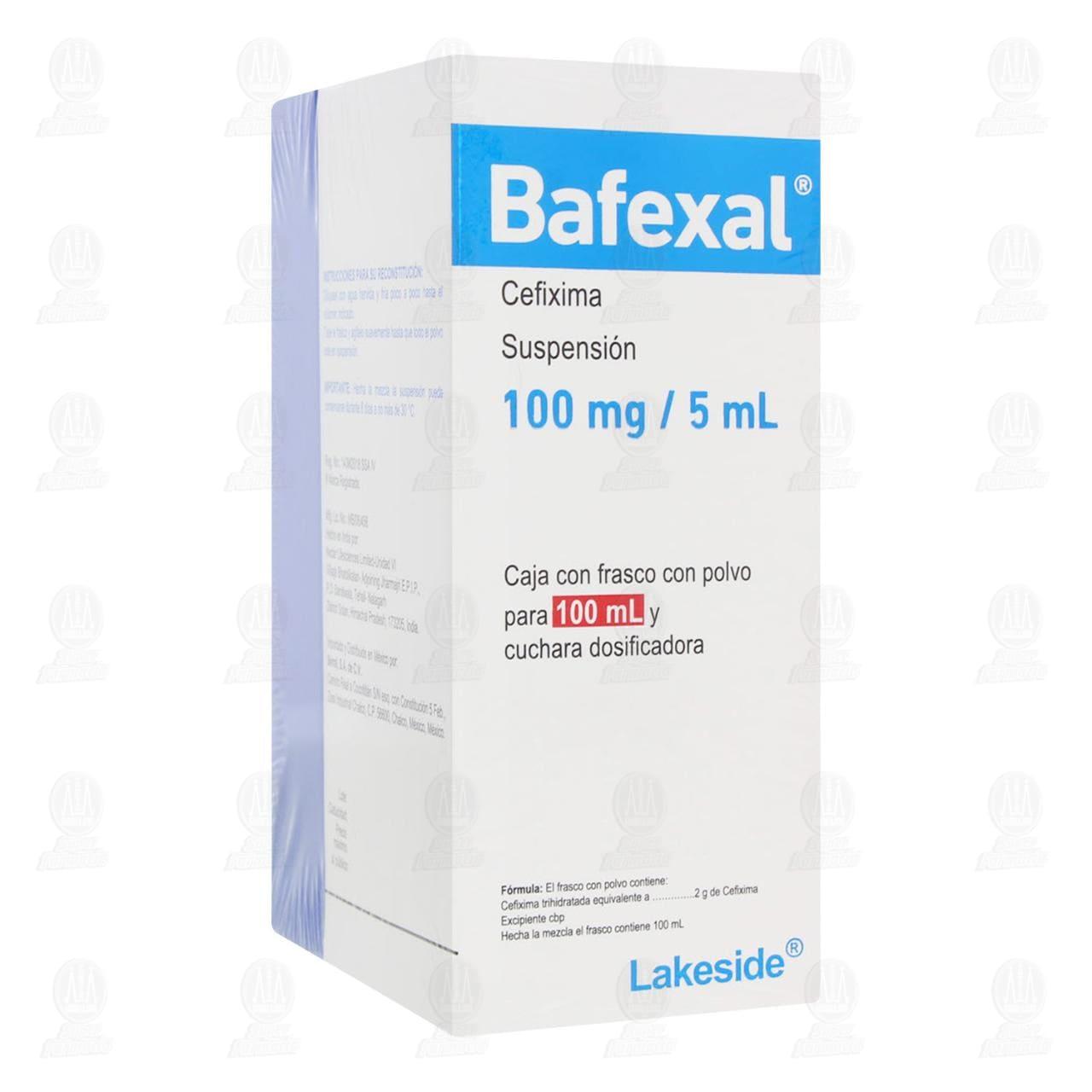 Comprar Bafexal 100mg/5ml Suspensión 100ml en Farmacias Guadalajara