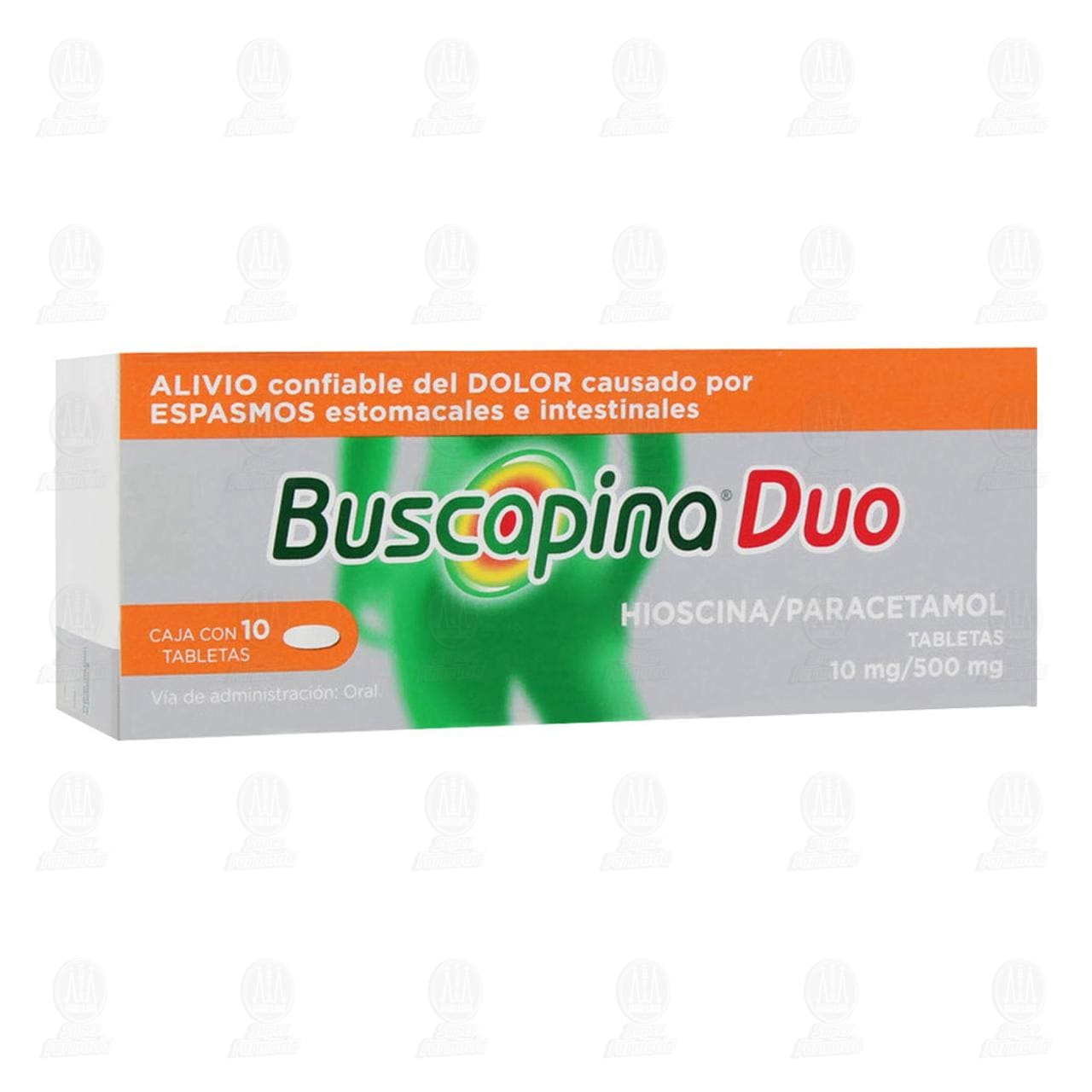 Comprar Buscapina Duo 10mg/500mg 10 Tabletas en Farmacias Guadalajara
