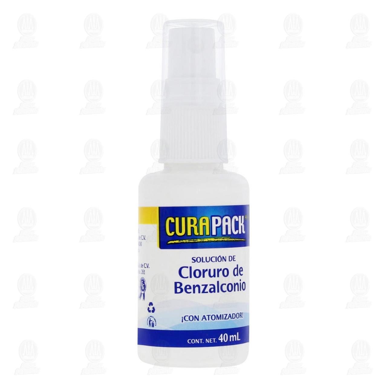 Comprar Cloruro Benzalconio Curapack 40ml en Farmacias Guadalajara