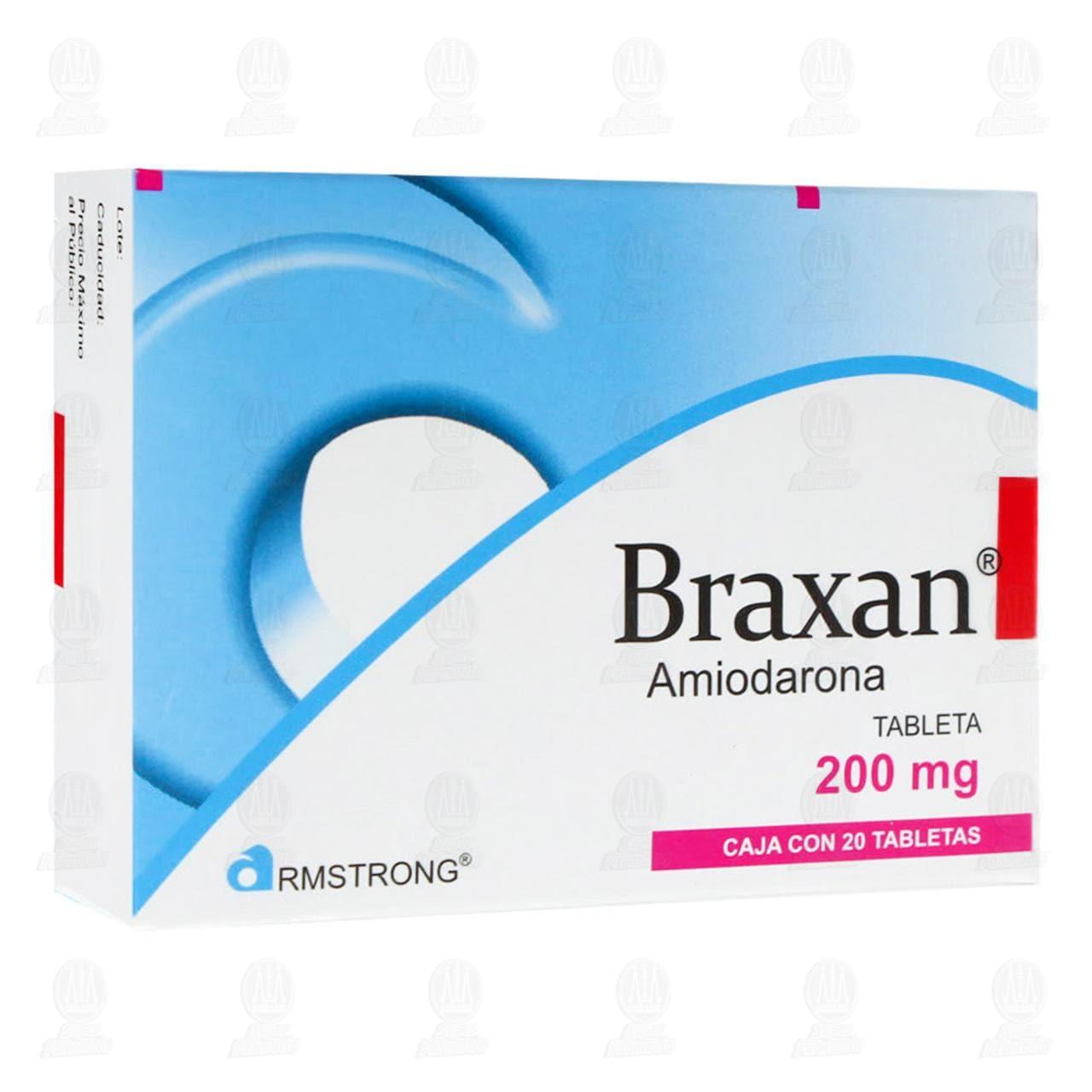Comprar Braxan 200mg 20 Tabletas en Farmacias Guadalajara