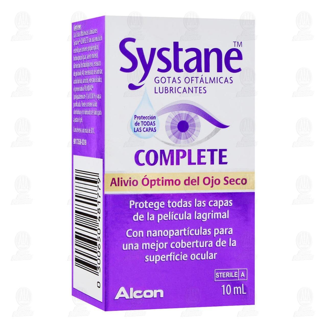 Comprar Systane Complete 10 ml Gotas Oftálmicas Lubricantes en Farmacias Guadalajara