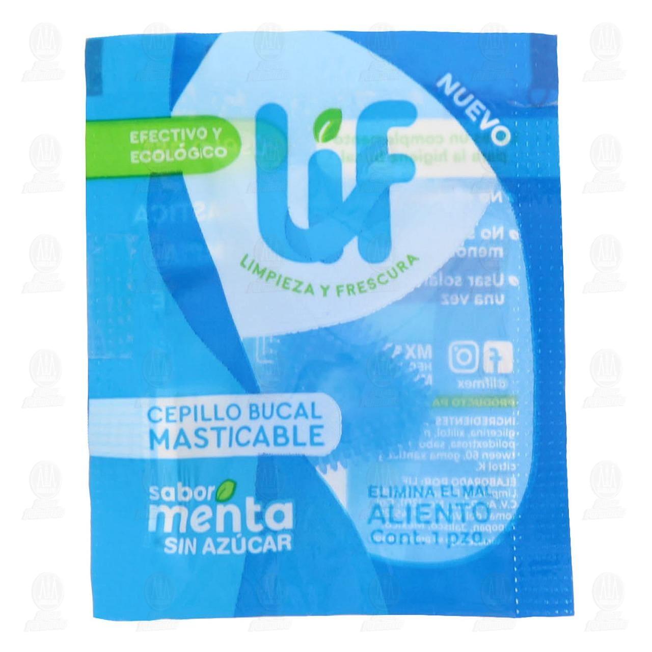 Comprar Cepillo Bucal Masticable Lif Sabor Menta, 1 pz. en Farmacias Guadalajara