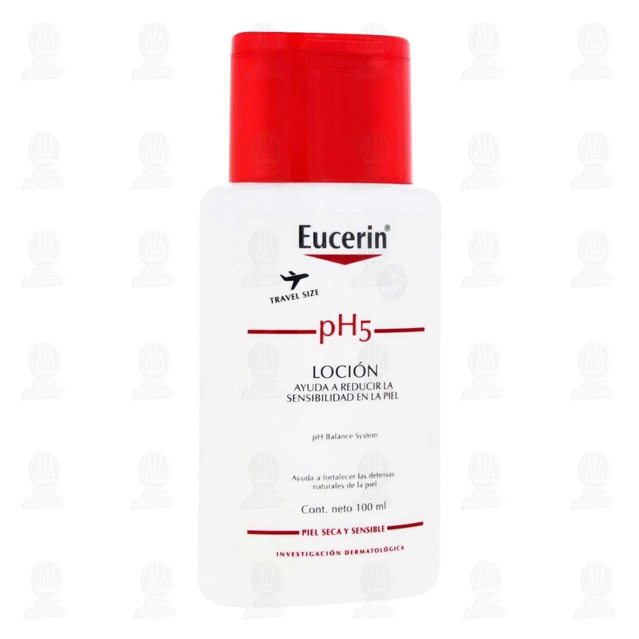 Comprar Eucerin PH5 Loción Corporal Hidratante Piel Seca o Sensible, 100ml. en Farmacias Guadalajara