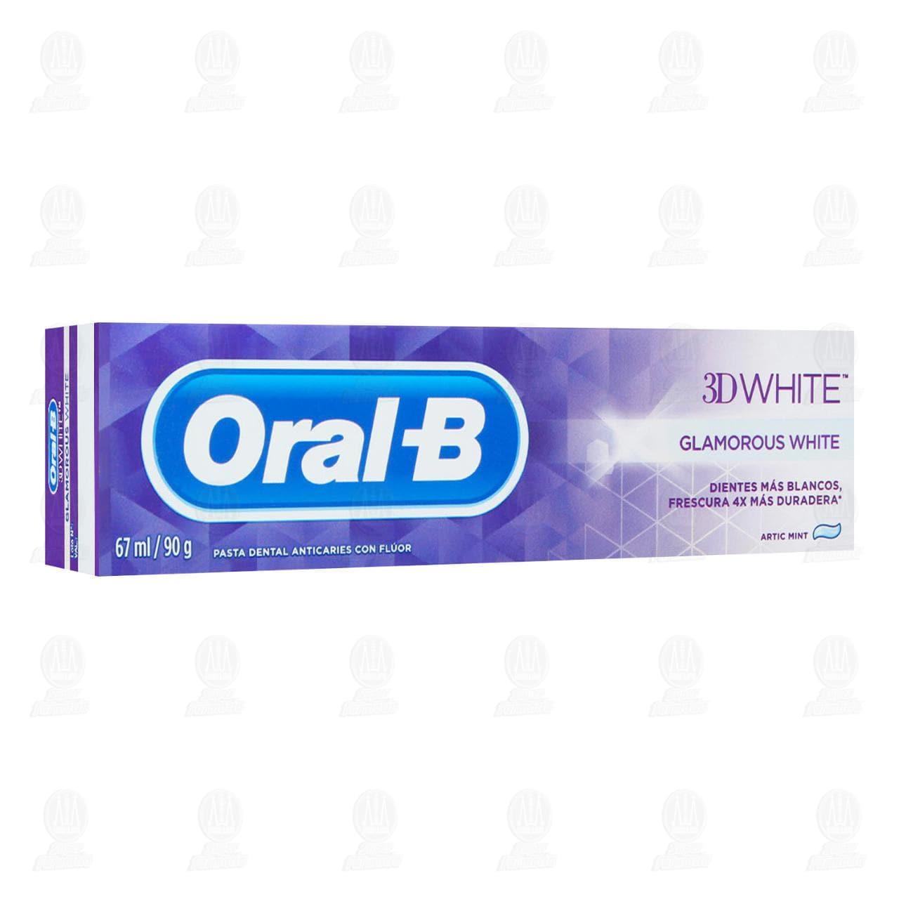 Comprar Pasta Dental Oral-B 3D-White Glamorous White, 67 ml. en Farmacias Guadalajara