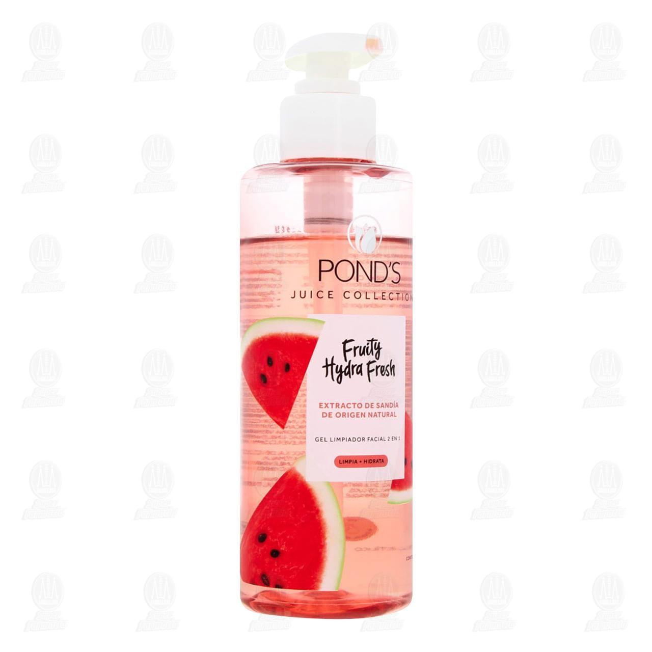 Comprar Gel Limpiador Facial Pond's Fruity Hydra Fresh 2 en 1, 200ml. en Farmacias Guadalajara