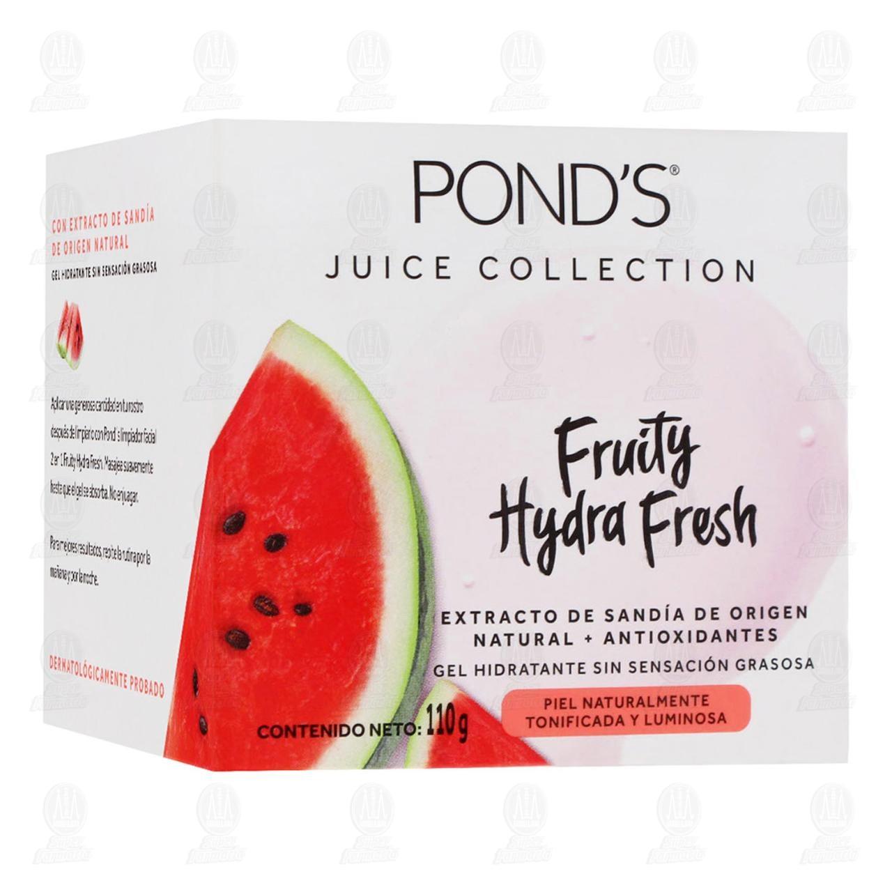 Comprar Gel Hidratante Pond's Fruity Hydra Fresh Sandía, 110 gr. en Farmacias Guadalajara