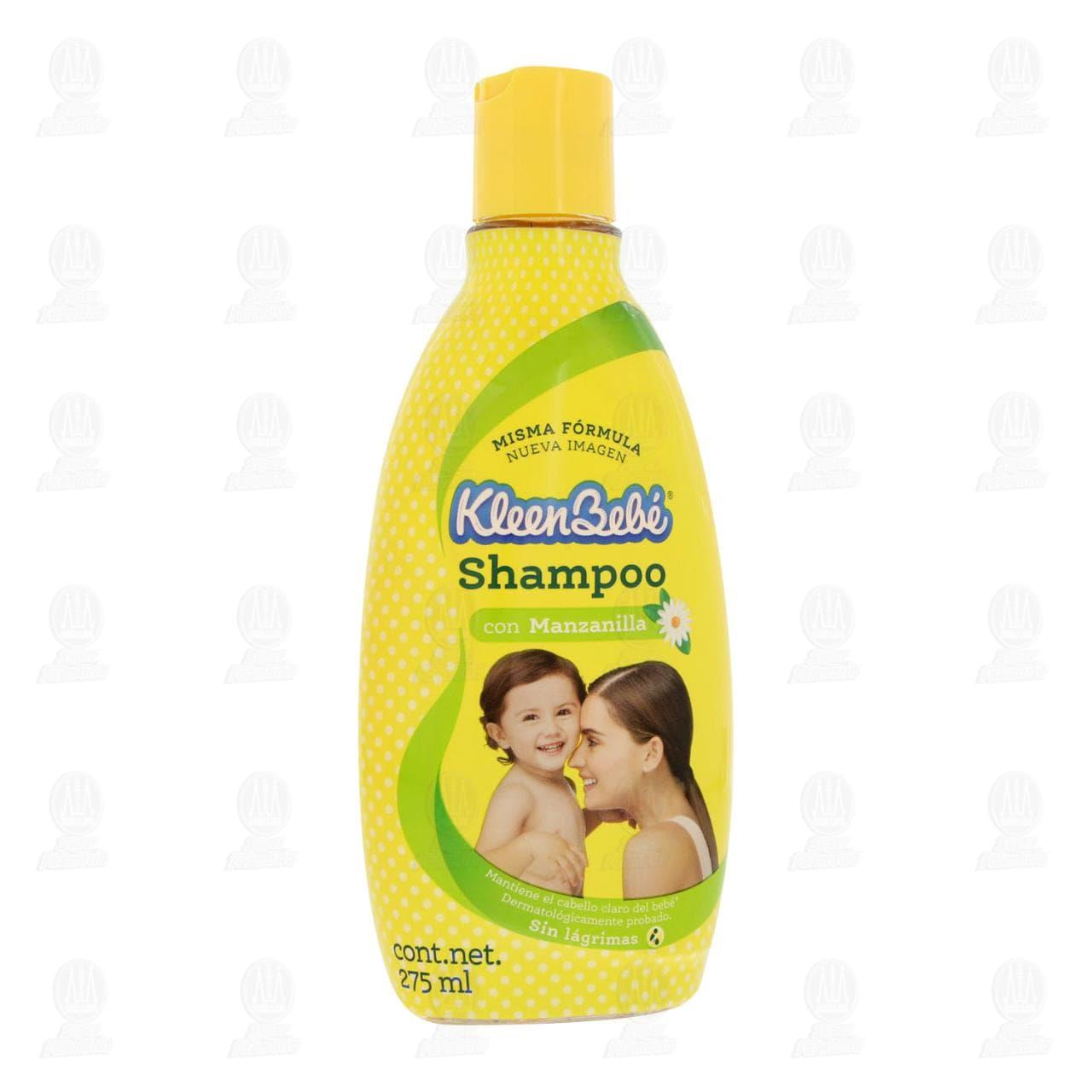 Comprar Shampoo para Bebé KleenBebé con Manzanilla, 275 ml. en Farmacias Guadalajara