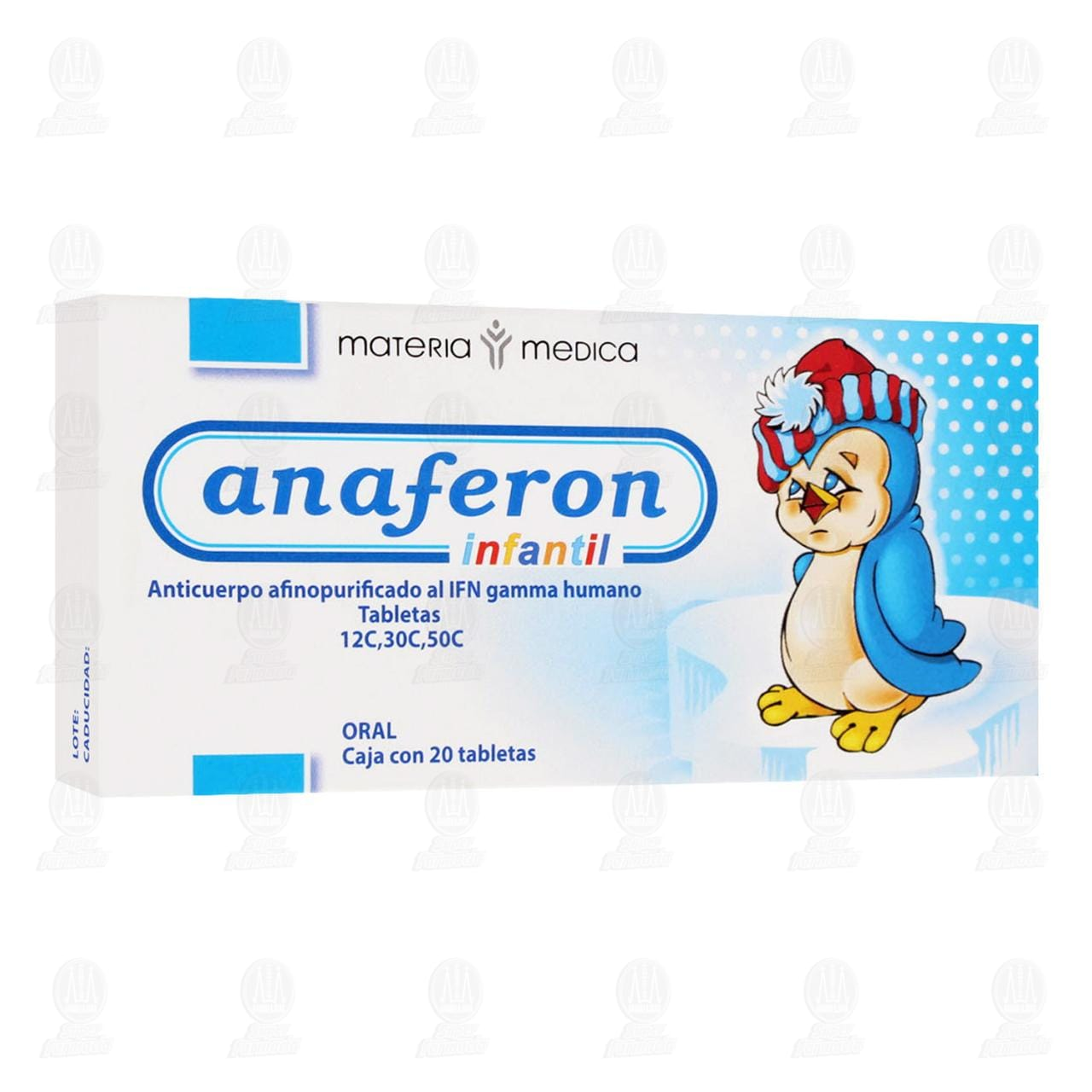 Comprar Anaferon Infantil 12C, 30C, 50C 20 Tabletas en Farmacias Guadalajara