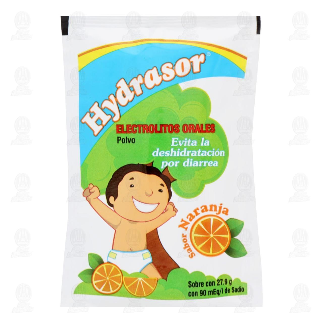 Comprar Hydrasor Suero Naranja 27.9gr en Farmacias Guadalajara
