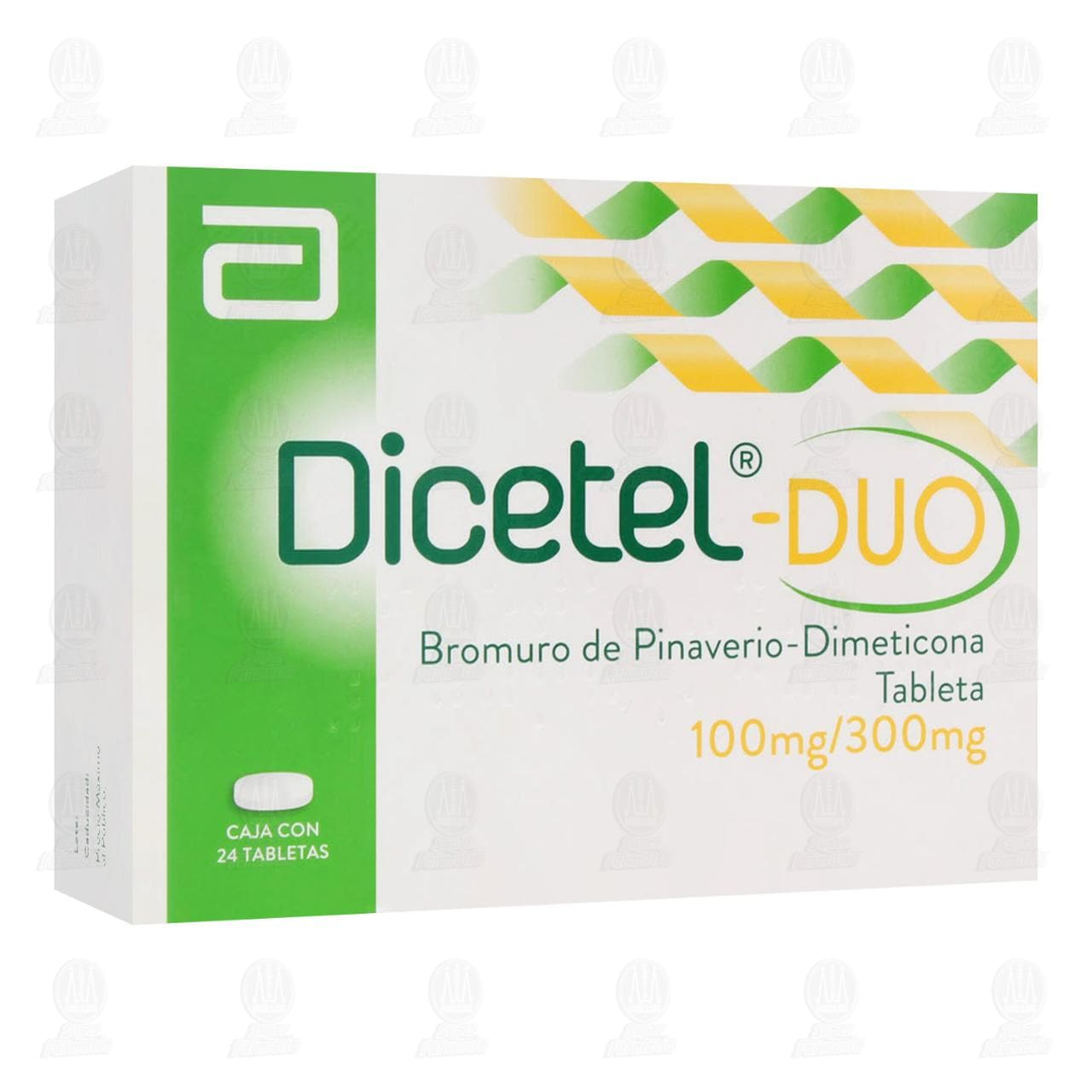 Comprar Dicetel-Duo 100mg/300mg 24 Tabletas en Farmacias Guadalajara