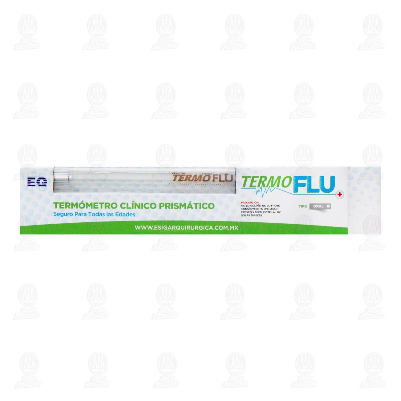 Comprar TermoFlu Termómetro Clínico Prismático, 1pz en Farmacias Guadalajara