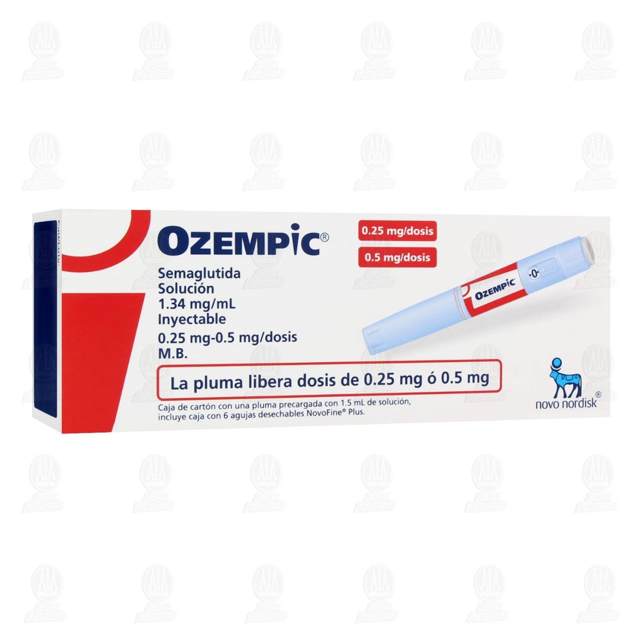 Comprar Ozempic 1.34mg Solución Inyectable en Farmacias Guadalajara