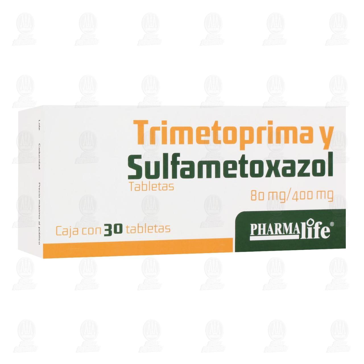 Comprar Trimetoprima y Sulfametoxazol 80mg/400mg 30 Tabletas Pharmalife en Farmacias Guadalajara