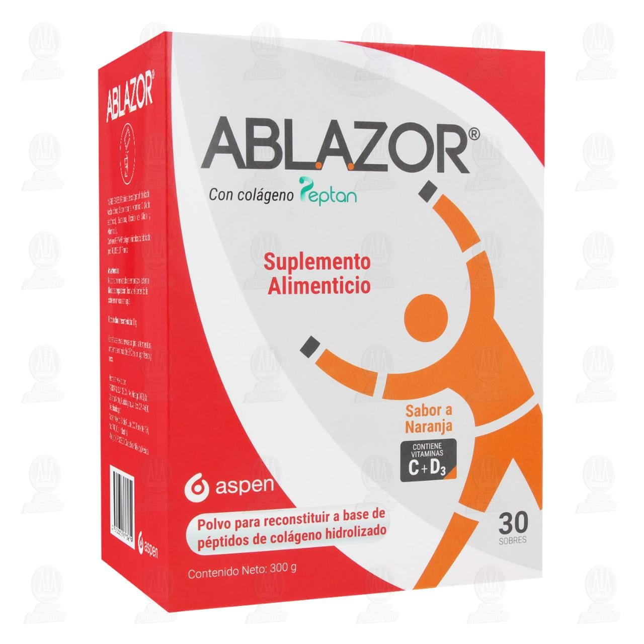 Comprar Ablazor con Colágeno Peptan en Polvo Sabor Naranja 300 gr en Farmacias Guadalajara