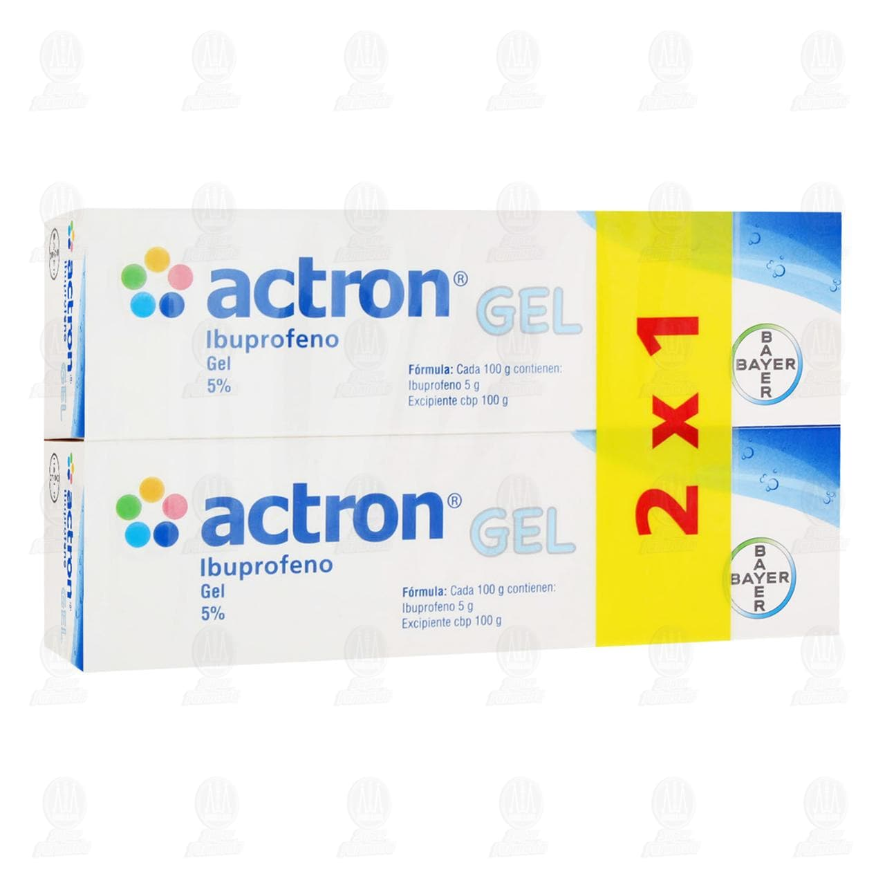 Comprar Actron Gel 5% 100gr 2x1 en Farmacias Guadalajara
