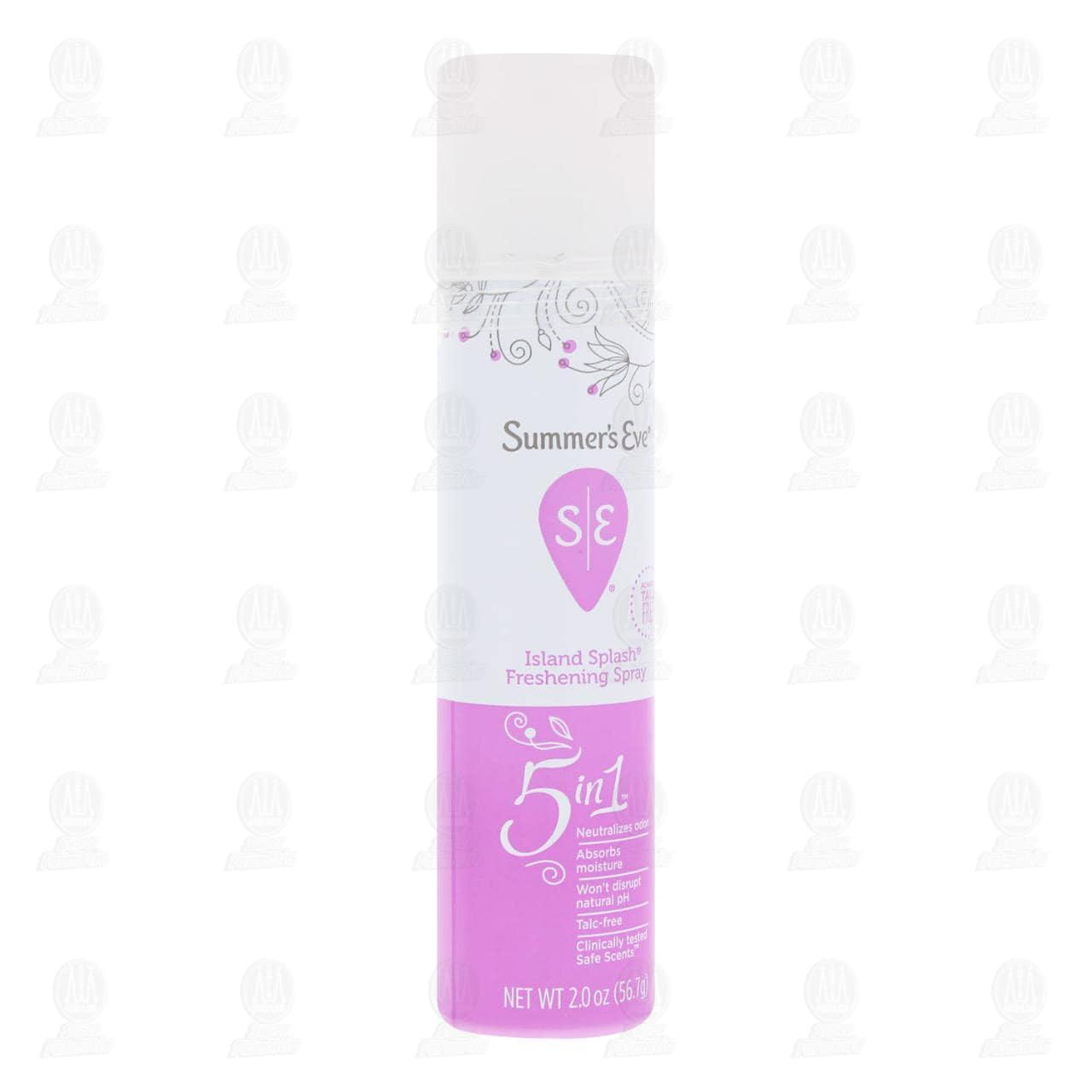 Comprar Desodorante Íntimo Femenino Summer's Eve Island Splash en Spray, 56.7 gr. en Farmacias Guadalajara