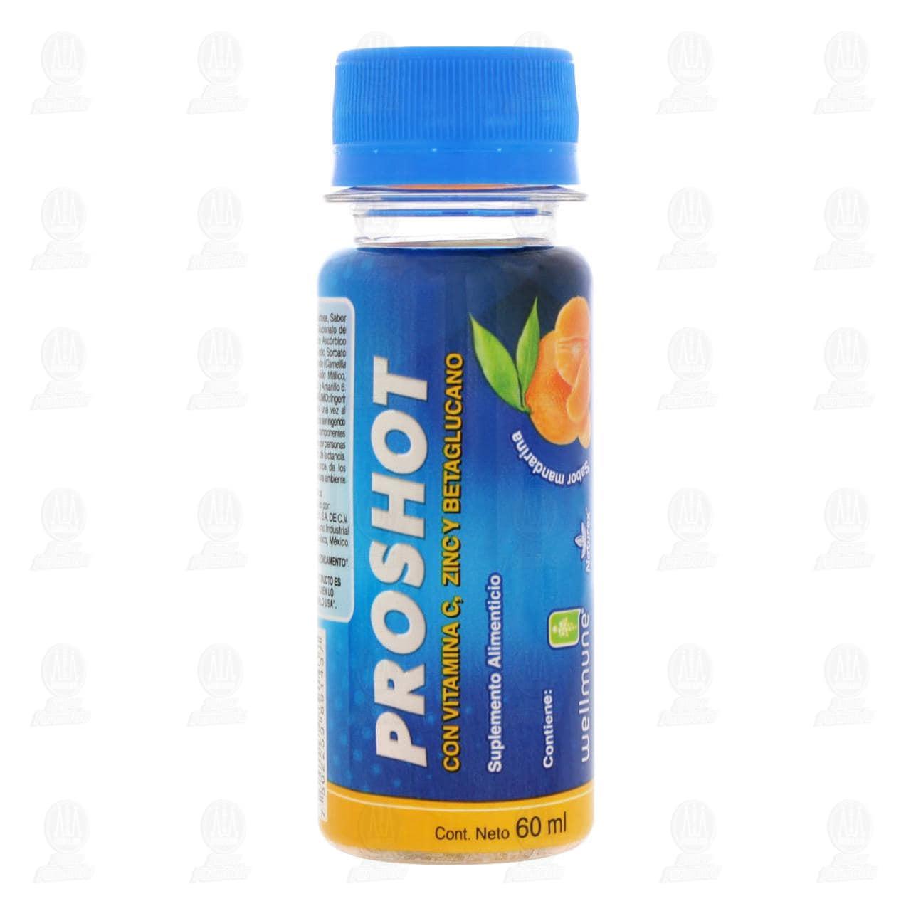 Comprar Suplemento Alimenticio Proshot Sabor Mandarina 60ml en Farmacias Guadalajara
