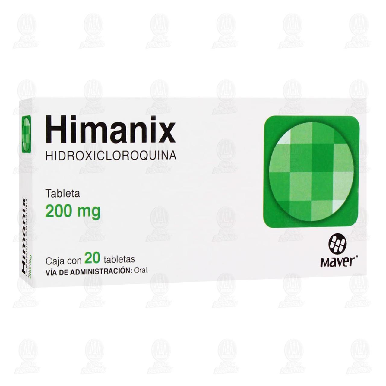 Comprar Himanix 200mg 20 Tabletas en Farmacias Guadalajara