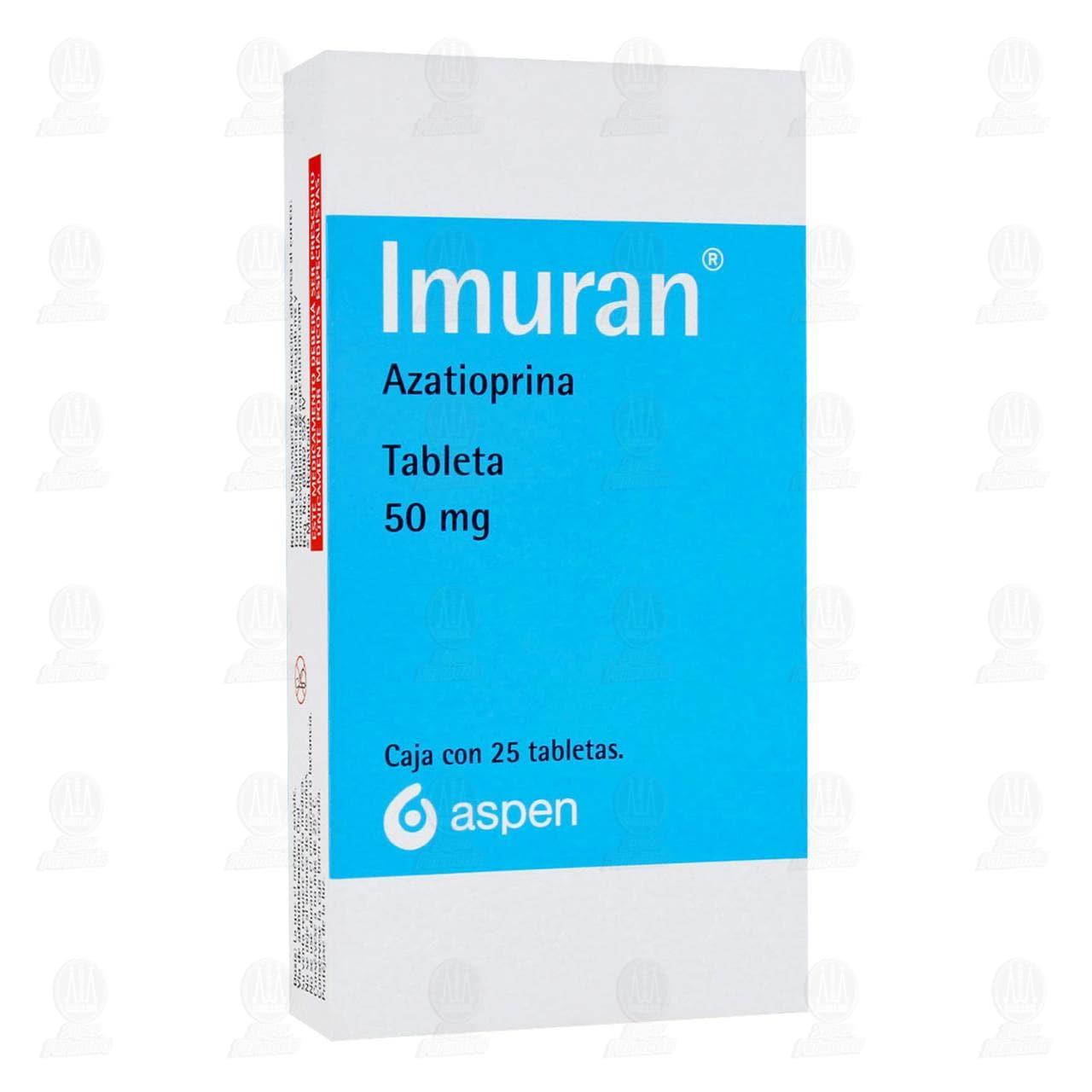 Comprar Imuran 50mg 25 Tabletas en Farmacias Guadalajara