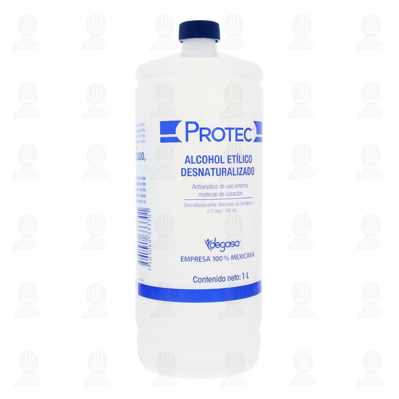 Comprar Alcohol Etílico Protec Desnaturalizado 1l en Farmacias Guadalajara