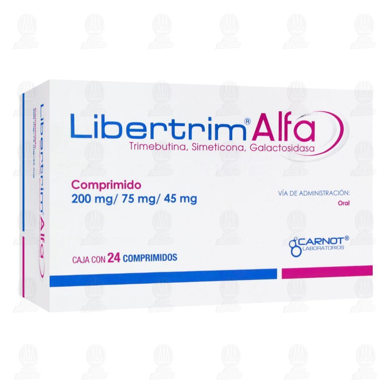 Comprar Libertrim Alfa 200mg/75mg/45mg 24 Comprimidos en Farmacias Guadalajara