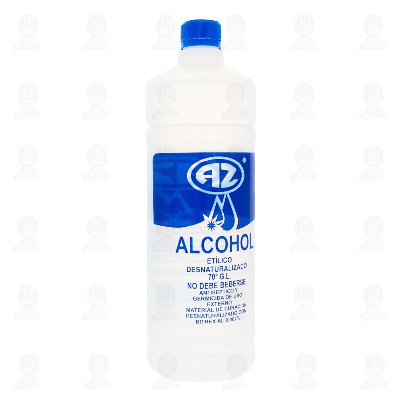Comprar Alcohol Etílico AZ Desnaturalizado 70° Azul 1l en Farmacias Guadalajara