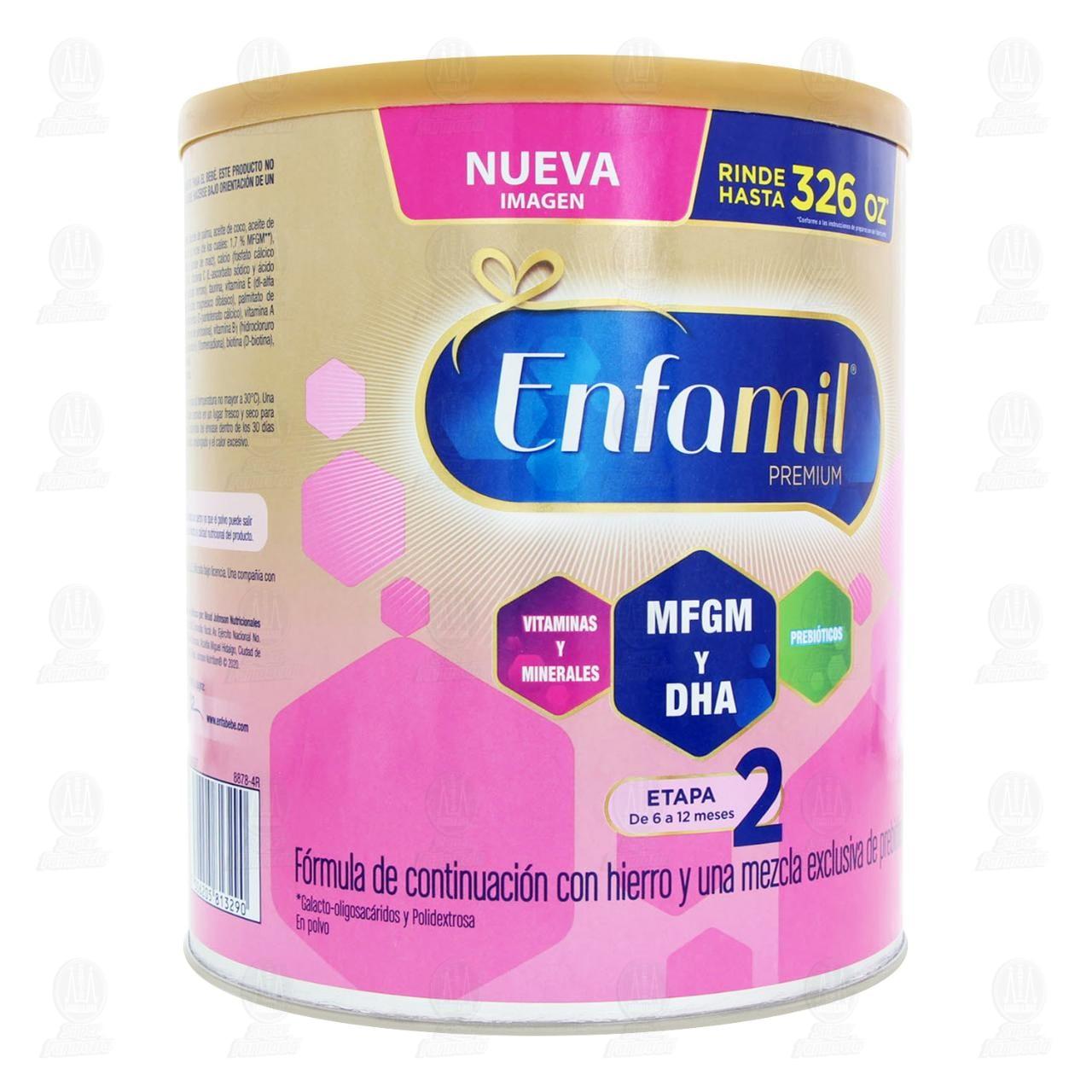 Comprar Fórmula Infantil Enfamil Premium Promental Etapa 2 en Polvo (Edad 6-12 Meses), 1.5 kg. en Farmacias Guadalajara