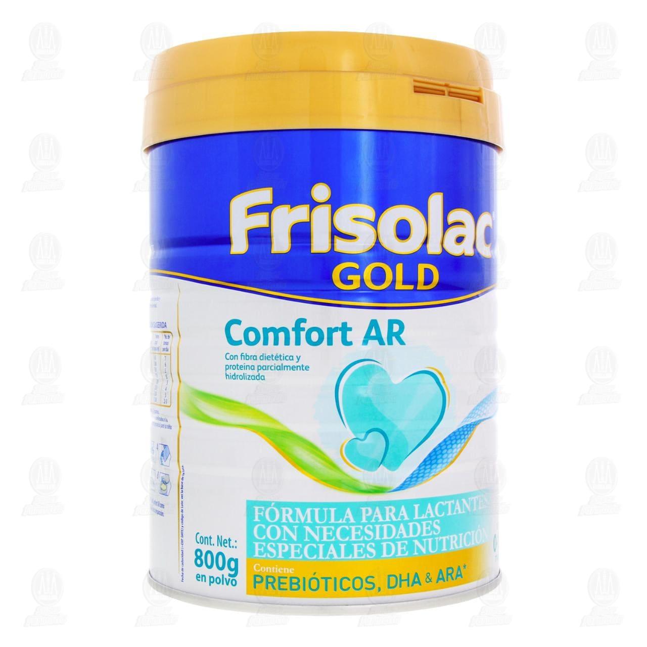 Comprar Fórmula Infantil Frisolac Gold Comfort en Polvo (Edad 0-12 Meses), 800 gr. en Farmacias Guadalajara