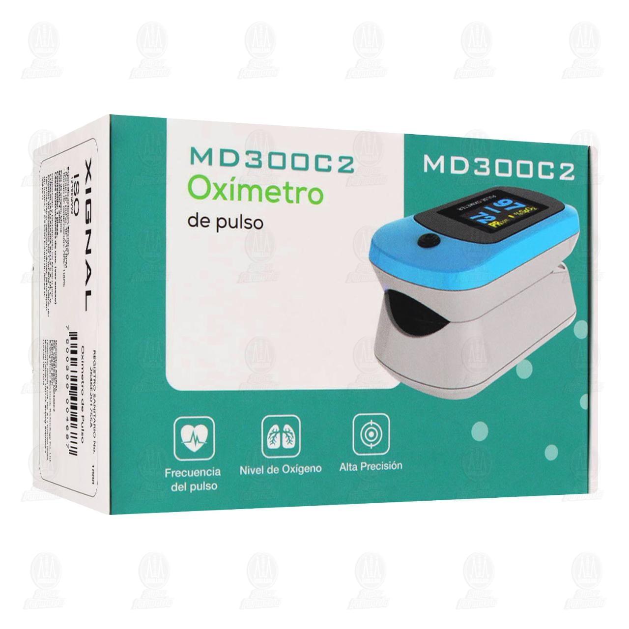 Comprar Oxímetro Digital de Pulso Xignal para Adulto en Farmacias Guadalajara