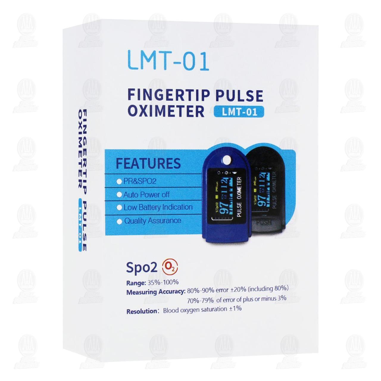 Comprar Oxímetro Digital de Pulso LMT-01 en Farmacias Guadalajara