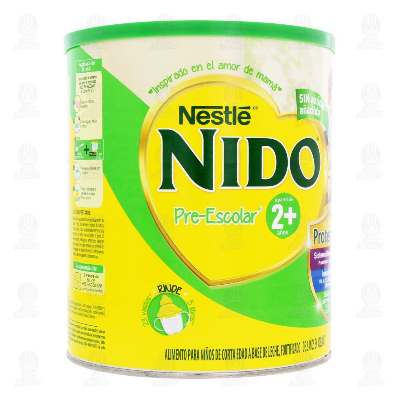 Comprar Nido Pre-Escolar 2+ Años, 800 gr. en Farmacias Guadalajara