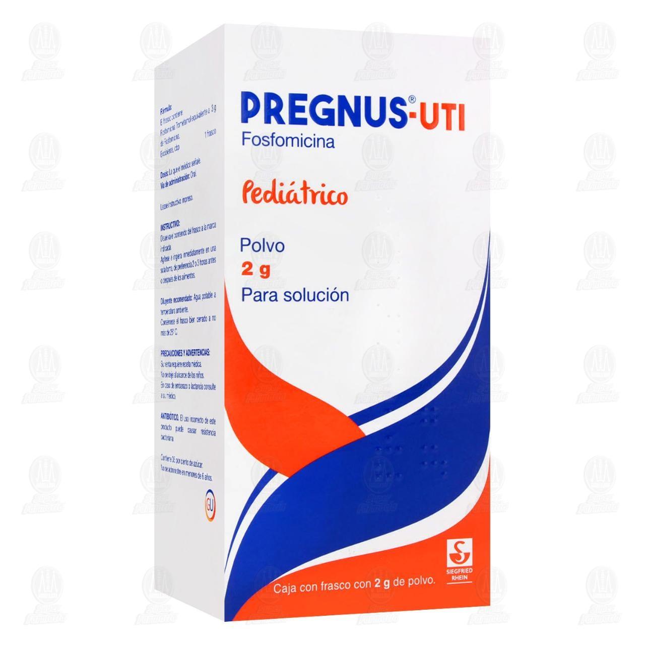 Comprar Pregnus-UTI Pediátrico 2gr Polvo para Solución en Farmacias Guadalajara